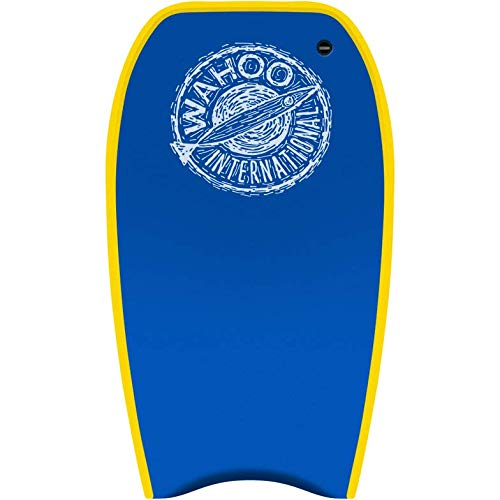 """BullyBoard Poi Boy 45"""" - Competition Quality Bodyboard for Big and Tall Adult Riders up to 225lbs ~ for Serious Bodyboarders! Poly Core for Smooth Ride, Handling, Super Durable! Made in The USA!"""
