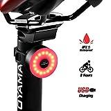 DONPEREGRINO M2 - LED Feu Arrière de Vélo Durée jusqu'à 56...