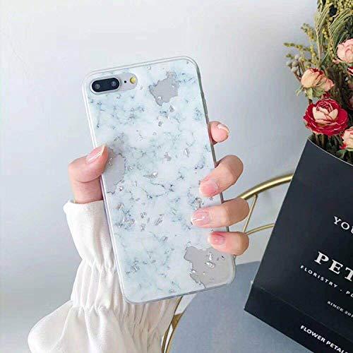 Phone Case for iPhone X XS Max XR Soft TPU Cover for iPhone 7 8 6 6s Plus Case,White Green,for iPhone 6 Plus