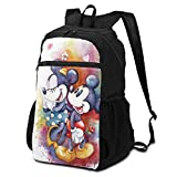 Action Figures Mickey Mouse Folding Backpack Lightweight Packable Backpacks Multipurpose Handy Foldable Camping Beach Outdoor knapsack Pack for Waterproof for Men Women Travel Hiking Daypack