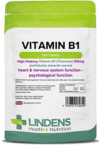 Vitamina B1 100mg /100 tavolette
