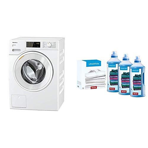 Miele Lavatrice Standard, A+++ -10%, 50 dB, 1400 rpm, Carico Frontale, 8 kg, Bianco + Set Ultracolor...