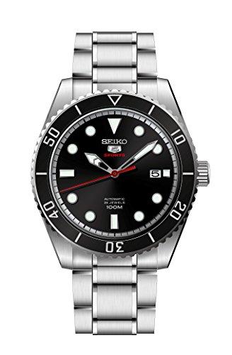 Pulsar Herren Analog Automatik Uhr mit Edelstahl Armband SRPB91K1