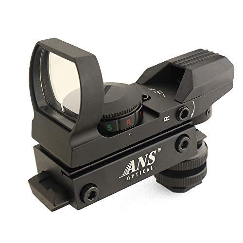 ANS Optical 軽量 143g マルチレティクル オープンドットサイト カメラ用 マウント アダプターセット 各社ホットシュー規格対応