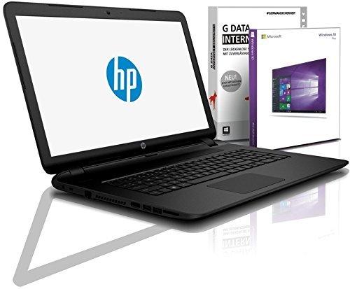HP (15,6 Zoll) Notebook (Intel N4000, 2.6 GHz, 8GB DDR4, 256GB SSD, DVD±RW, Radeon R4, HDMI, Webcam, Bluetooth, USB 3.0, WLAN, MS Office, Windows 10 Prof. 64 Bit) #6102