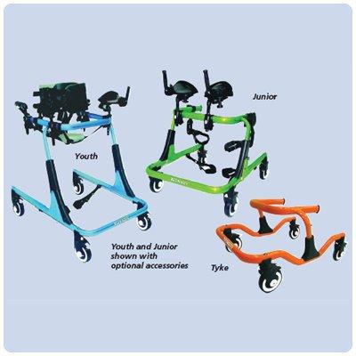 Drive Trekker Gait Trainer - Junior Trekker, Size 2, Green
