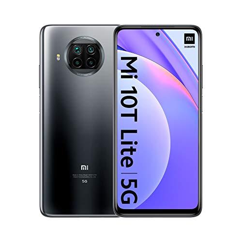 Xiaomi Mi 10T Lite 5G - Smartphone 6 + 64GB, 6,67 'FHD + DotDisplay, Snapdragon 750G, 64 MP Quad Camera with AI, 4820 mAh, Pearl Gray (Official Version), with Alexa Hands-Free