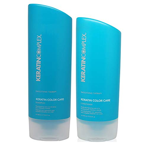 Keratin Complex Keratin Color Care Duo Shampoo and Conditioner Set, 13.5 Fl Oz
