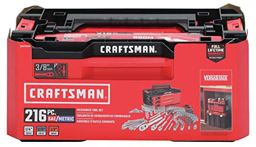 Product Image 5: CRAFTSMAN Mechanics Tools Kit with 3 Drawer Box, 216-Piece (CMMT99206)