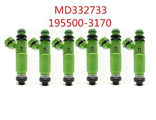 Fuel injector 195500-3170 Fits 1998-2003 For MITSUBISHI MONTERO Sport 3.0L V6 (6)