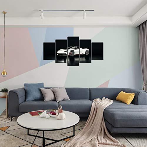 HeIrbLerRt Canvas Wall Printed HD 5 Panel Pininfarina Battista Wall needs 150x80cm unFramed