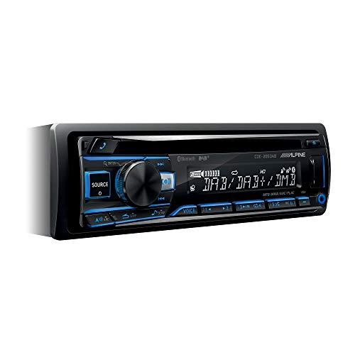 Alpine Electronics - CD Receiver mit DAB+ und Bluetooth Schwarz (RGB...