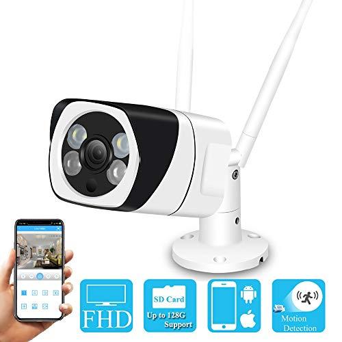 MHCYKJ Full HD WiFi Wireless IP Camera 1080 P 960 720 P Esterni Interni Telecamera di Sicurezza CCTV Bidirezionale Audio RTSP App Yoosee, 1080 P
