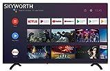 Skyworth E20300 32' INCH 720P LED A53 Quad-CORE Android TV Smart 32E20300 with Voice Control Smart...