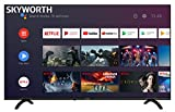 SKYWORTH E20300 32' INCH 720P LED A53 Quad-CORE Android TV Smart 32E20300 with Voice Control Smart Remote, 1mm Thin Bezel, and Android Operating System