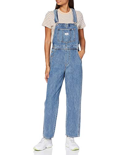 Levi\'s Womens Vintage Overall Pants, Dead Stone, S
