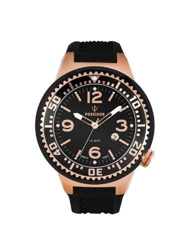 Kienzle Unisex-Armbanduhr POSEIDON S Analog Quarz Silikon K2103033093-00420