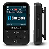 Oakcastle MP100 - Lecteur MP3 avec Fente Micro SD, Bluetooth, Batterie Longue...