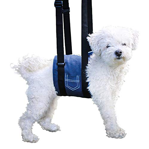Walkin' Support Sling Dog Harness for Full Body Support | Prevents Injuries | Helps with Post-Surgical Rehabilitation | Height Adjustable Handles