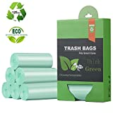 1.2 Gallon Small Trash Bags Garbage Bags, Mini Compostable Strong Bathroom Wastebasket Can Liners...