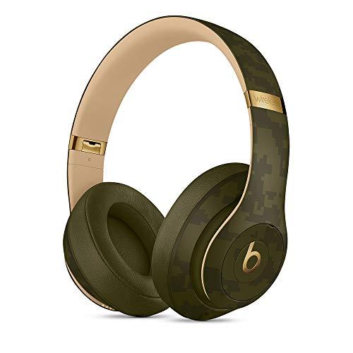 BeatsStudio3Wireless con cancelación de ruido - Auriculares supraaurales - Chip Apple W1, Bluetooth de Clase1, cancelación activa del ruido, 22horas de sonido ininterrumpido - Verde bosque