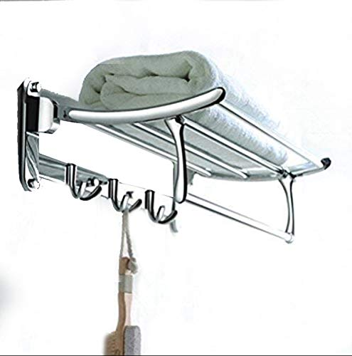 FORTUNE Classic Stainless Steel Folding Towel Rack for Bathroom   Towel Stand   Towel Hanger  ...