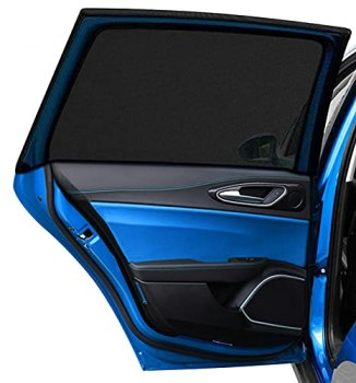 """DIZA100 Car Side Window Sun Shade 2Pack, Car Sun Shade Blocking Car Mosquito Net for Baby, Protection for Kids/Baby/Adults/Pets - 42""""x20"""" Fits All (98%) Cars!"""