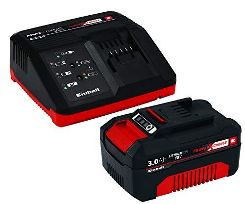 Einhell 4512041 Starter Kit Batteria e Caricabatterie Power X-Change (Ioni di Litio, 18 V, Batteria...