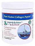 Joy of Health Hydrolyzed Pure Marine Collagen Peptide Powder for Skin, Hair, Nails, & Bones 7.1 oz.