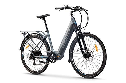 Moma Bikes Bicicleta Eléctrica Urbana EBIKE-28 Pro, Shimano 7vel,...