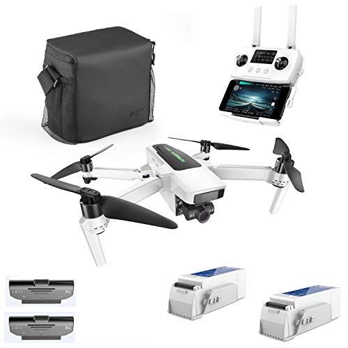 Hubsan Zino 2 Plus GPS FPV Drone Pieghevole 4K 60FPS Fotocamera Gimbal Rimovibile a 3 Assi 9KM 35 Minuti App Controllo WiFi (Versione Portatile)