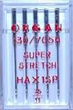 Organ Overlocker/Serger/Sewing Machines Needles HAx1SP Super Stretch (75/11)
