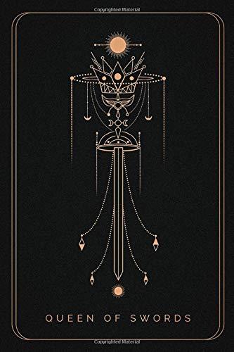 Queen Of Swords: The Queen Of Swords tarot notebook , tarot...