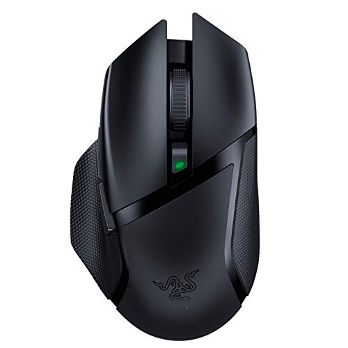 Razer Basilisk X HyperSpeed Wireless Gaming Mouse: Bluetooth & Wireless Compatible, 16K DPI Optical Sensor, 6 Programmable Buttons, 450 Hr Battery, Classic Black