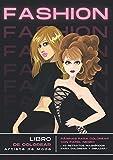 Artista de Moda: EDICIÓN ESPECIAL CON PAPEL NEGRO I Libro para colorear de moda I Libro de diseño...