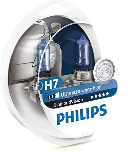 Philips - Diamond Vision H7 Halogen HID Bulbs (Pair)