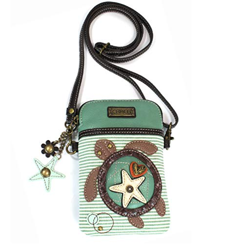 CONVENIENT, COMPACT, FUN. Front pocket adorned with our unique CHALA Character. Crossbody phone purse design with superior soft leather textured, which is durable and nice. Beautiful Lining Material to avoid friction to the phone and causing any damage. CROSSBODY CELL PHONE BAG bag has external unzippered compartment and main zippered compartment, with three Credit Card Slots which can hold money, credit cards . Very spacious can hold all modern smartphones, keys, wallet, headphones, passport, tickets, cash, credit cards, lipstick. PURSE CELL PHONE HOLDER is the perfect size to fit the smart mobile phones with a big screen such as Apple iphone 6S 6S Plus, IPhone 7, Iphone 7 Plus, Samsung Galaxy Note 5, Note 4, Note 3, Galaxy S3,S4,S5,S6,S7 and all other smart cell phones making it one of the very best Women CrossBody Handbags in the market.