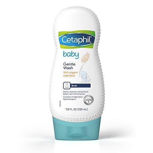 Cetaphil Baby Ultra Moisturizing Wash with Organic Calendula, 7.8 Ounce