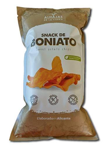 Alhajas de la Tierra | Chips de boniato | 5 bolsas de 100g