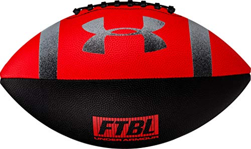 295 Composite Football, Junior, Red / Black
