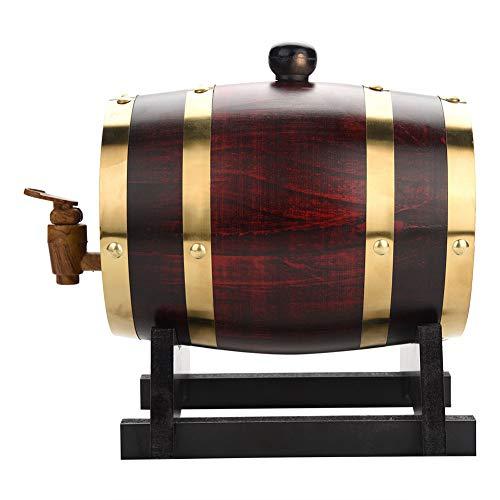 Fa - Bidone in legno di quercia vintage per birra, Whisky Rum Port, botti in rovere