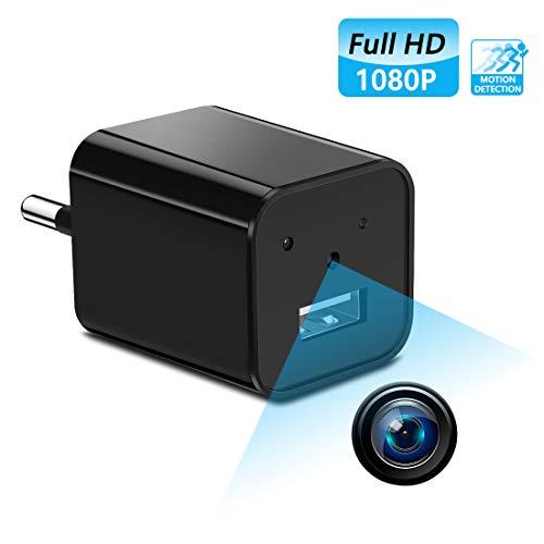 Supoggy Mini telecamera spia nascosta telecamera HD Nanny Full HD 1080P piccola, registrazione video e rilevamento del movimento per casa, automobile, drone, ufficio