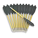 COBRA - Lot de 12 flèches - Traits - en Aluminium pour Pistolet arbalète.