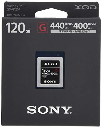 ソニー XQDメモリーカード 120GB QD-G120F