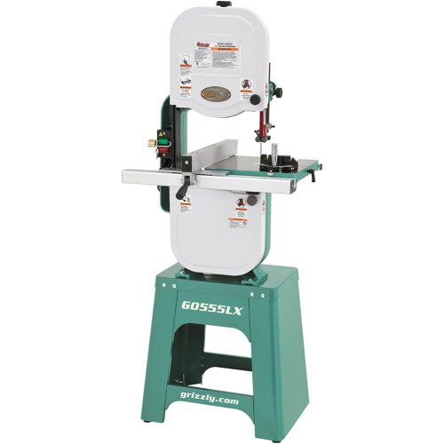 Grizzly G0555LX Deluxe Bandsaw Review