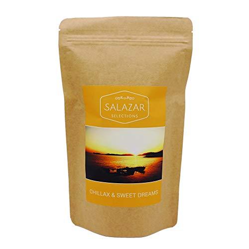 Salazar Chillax & Sweet Dreams 150g Aromapack | Tee Relax & Entspannung | Baldrian, Honigbusch, Lavendel | Abendtee | Relaxtee