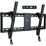 Mounting Dream TV Mount for Most 37-70 Inches TVs, Tilt TV Wall Mount Fits 16', 18', 24' Studs with Loading 132 lbs & Max VESA 600x400mm, Low Profile Wall Mount Bracket MD2268-LK