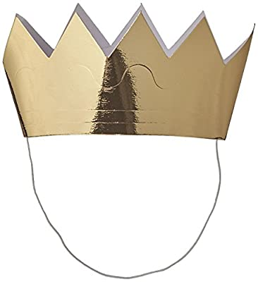 """Value 3-Pack includes 18 crowns Each crown measures approximately 6"""" wide Perfect for parties and arts & crafts Made from high-quality paper"""