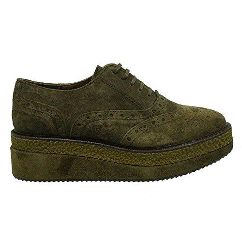 Zapatos Mujer Blucher Cordon Oxford Alpe Alexia Bison 39