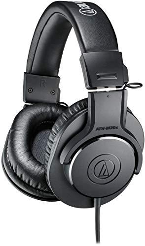 Audio Technica Pro ATH-M20X Cuffie Monitor Professionali, Nero